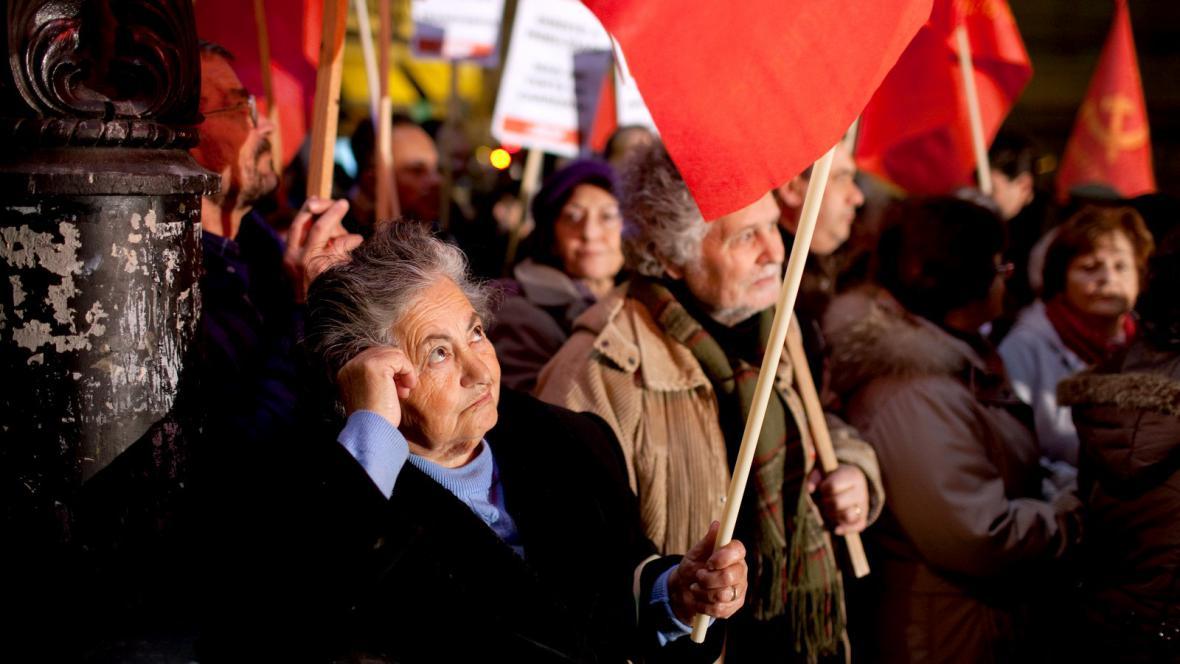 Protesty v Portugalsku