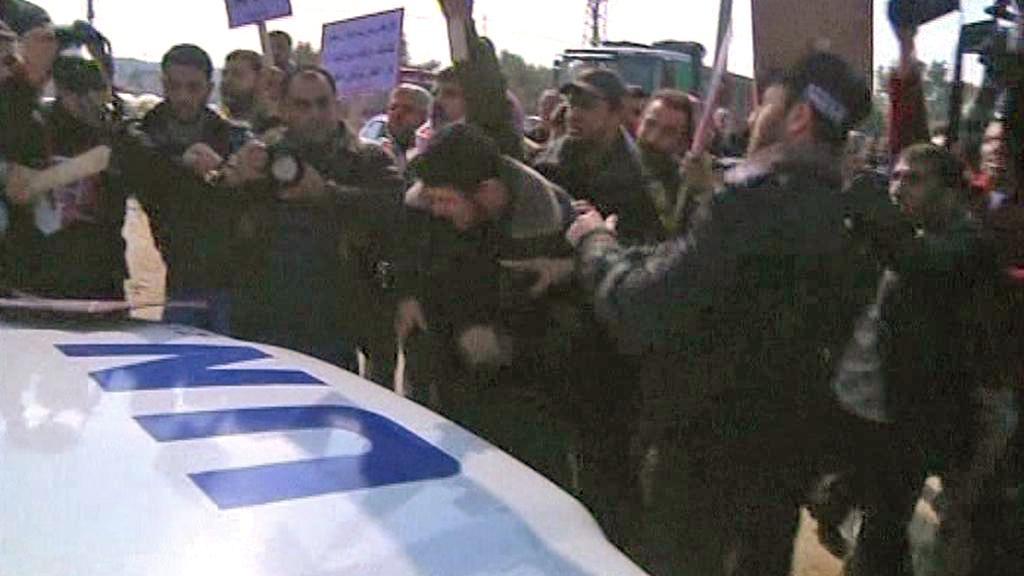 Palestinci napadli v Gaze konvoj s Pan Ki-munem
