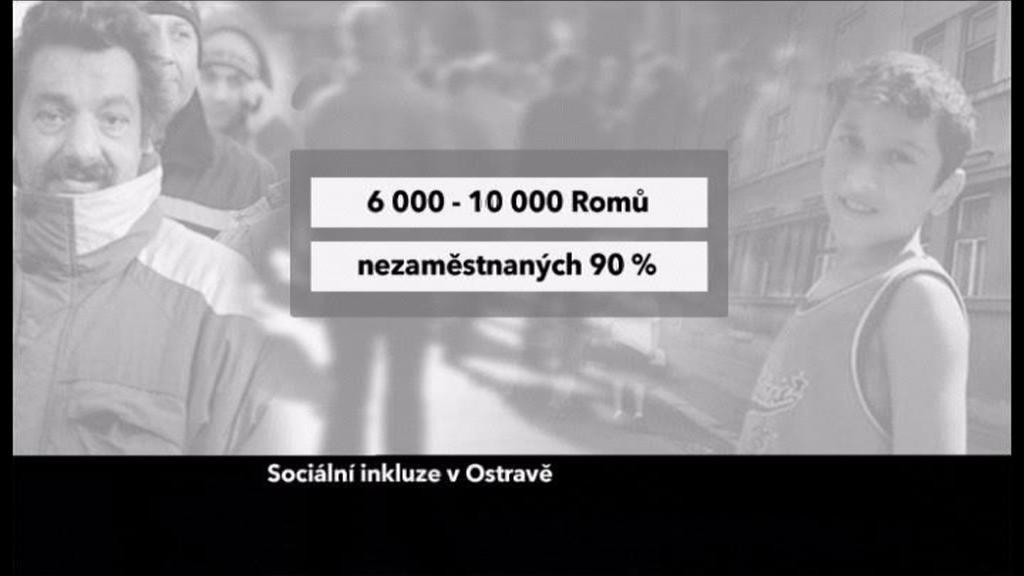 nezaměstnanost v romské komunitě