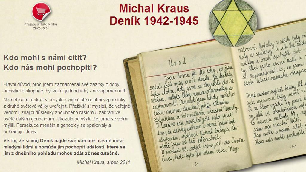 Michal Kraus / Deník 1942 - 1945