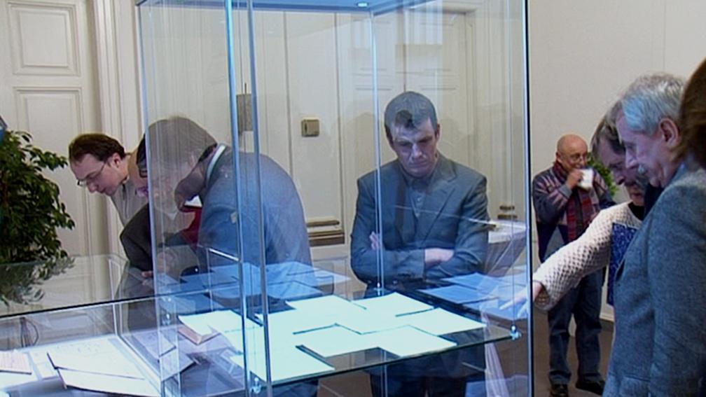 Výstava Charty 77 v budově Ústavního soudu v Brně