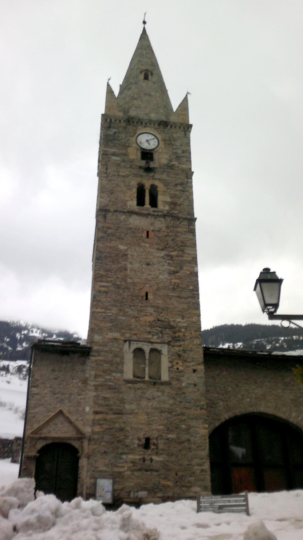 Kostel v centru Lanslebourgu