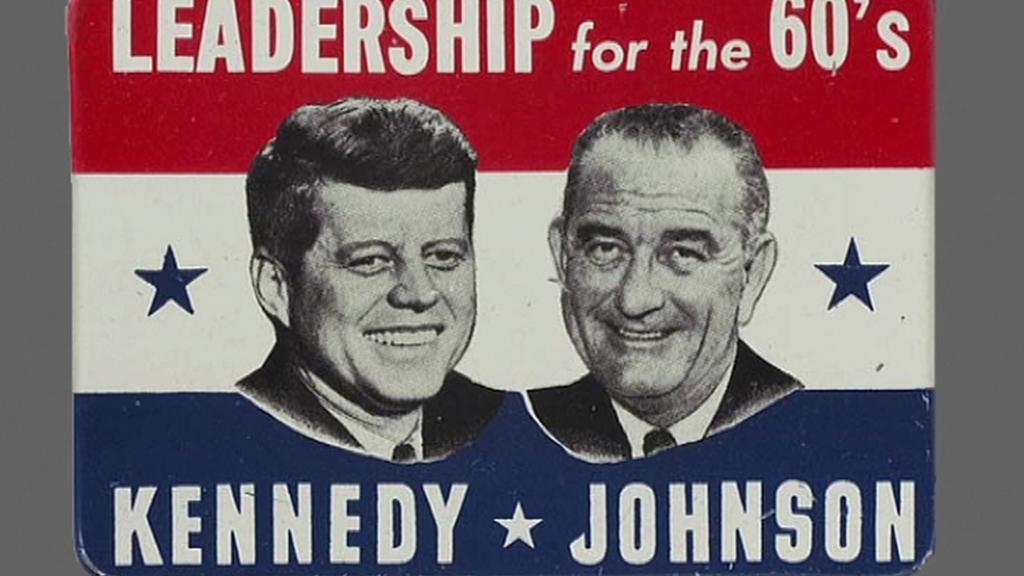 JFK a  Lyndon Johnson