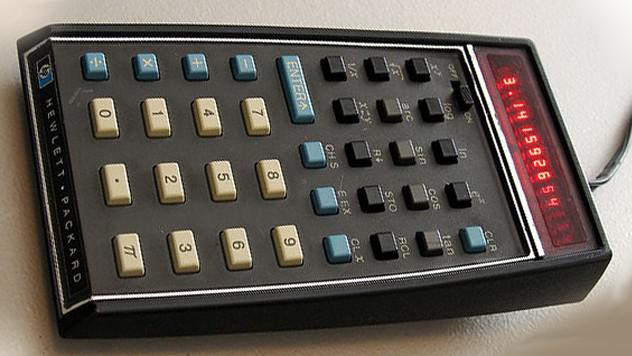 První vědecká kalkulačka