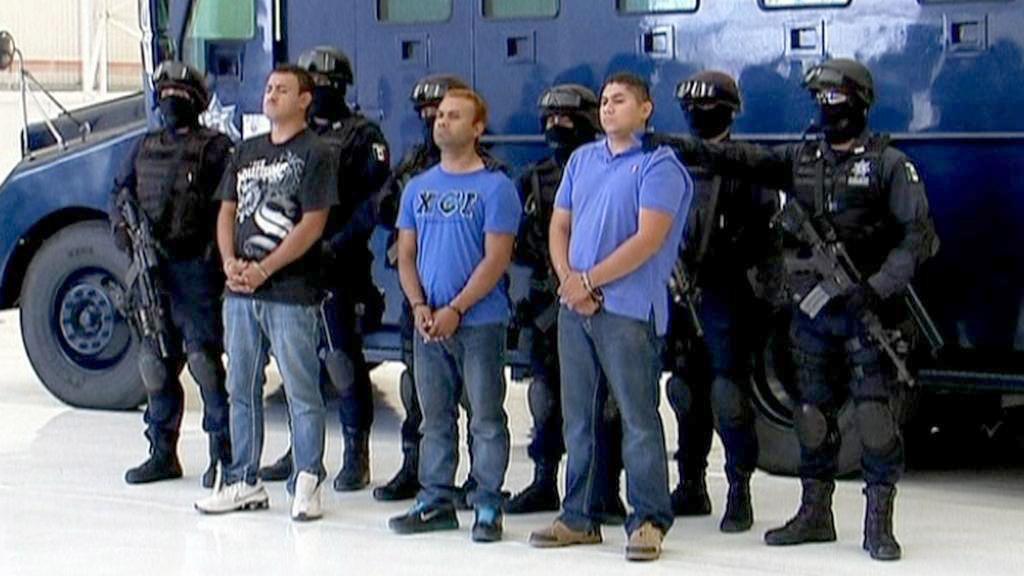 Zadržení členové kartelu Zetas