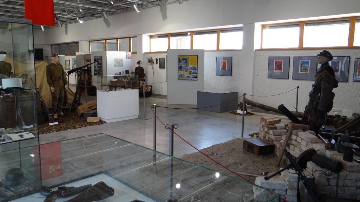 Výstava o nacistické okupaci města Břeclav