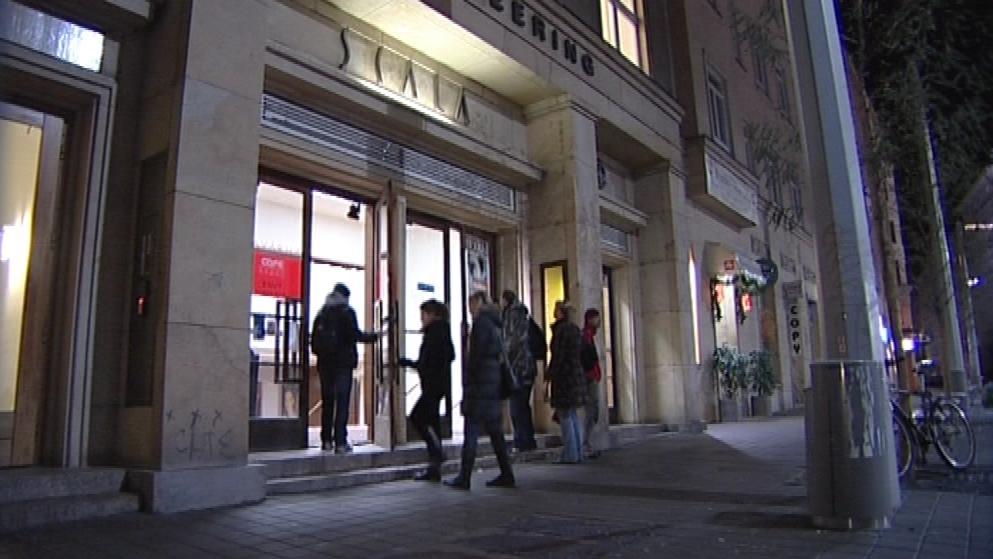Poslední promítání v kině Scala