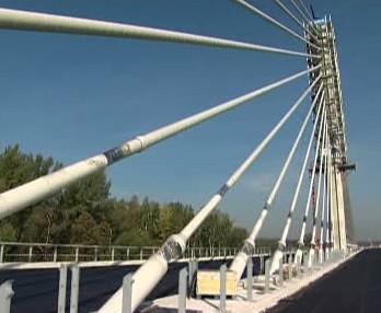 Závěsný most na D47