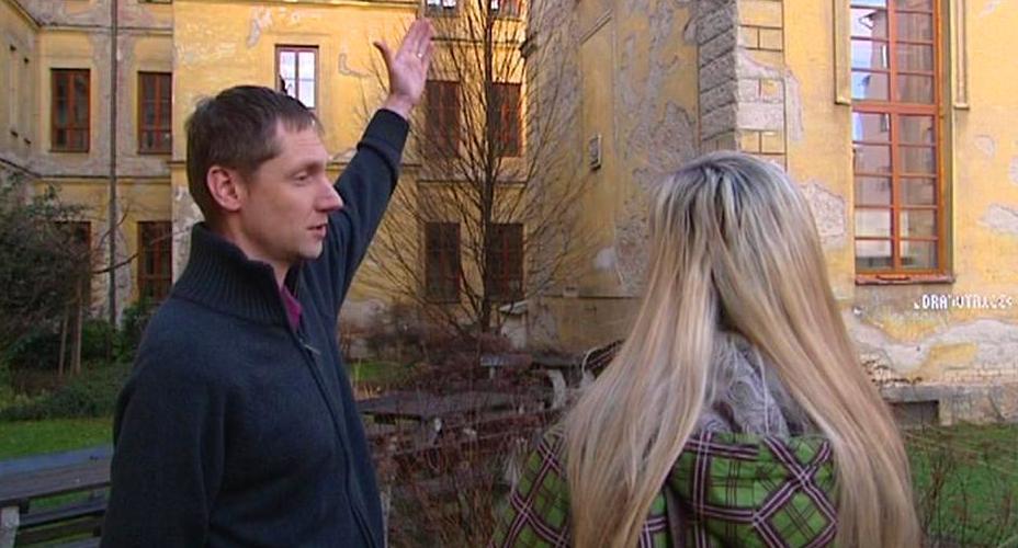 Ředitel Církevního gymnázia Daniel Petříček