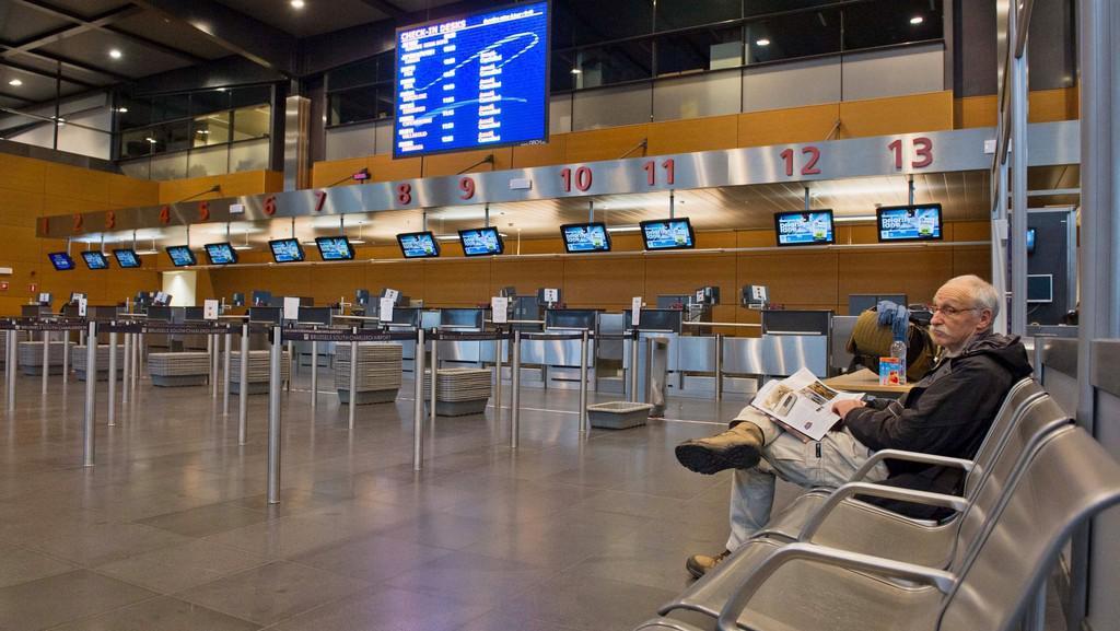 Stávka na letišti v Charleroi