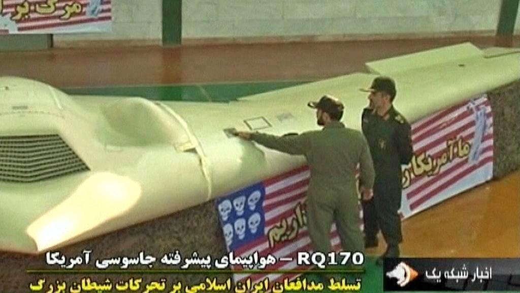 Americký špionážní letoun se zřítil v Íránu