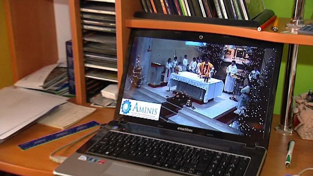 On-line bohoslužba