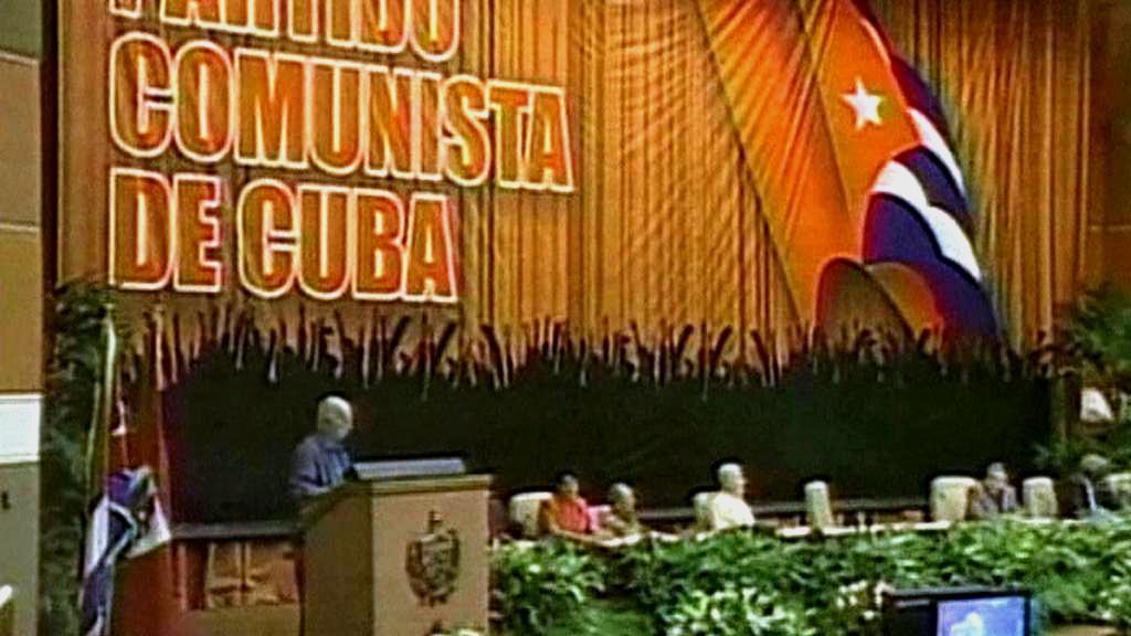 Sjezd komunistů na Kubě