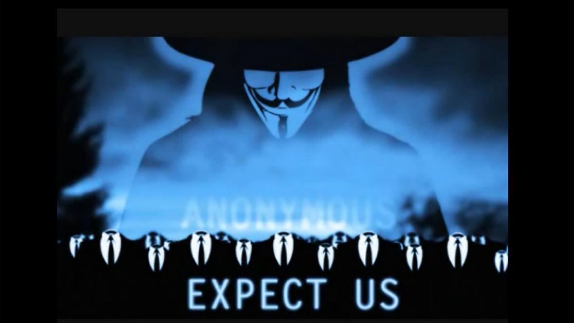 Hackerská skupina Anonymous