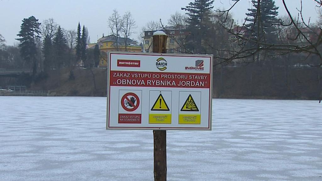 Obnova rybníku Jordán