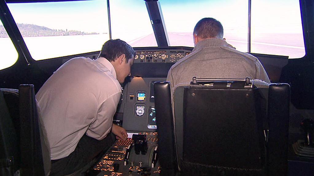 Letecký simulátor Airbusu A320