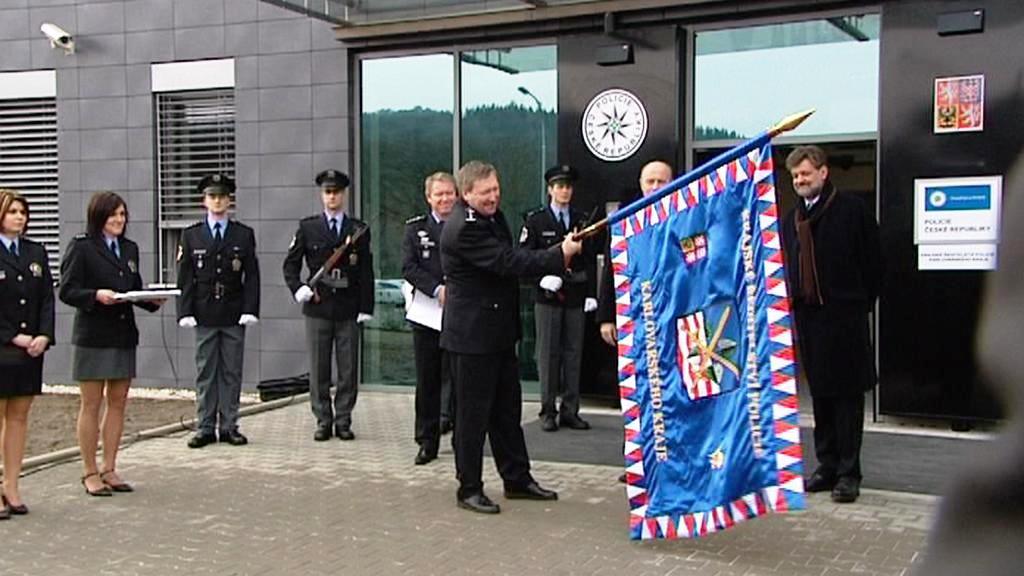 Otevření policejního ředitelství Karlovarského kraje