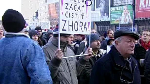 Bratislavský protest proti Gorile