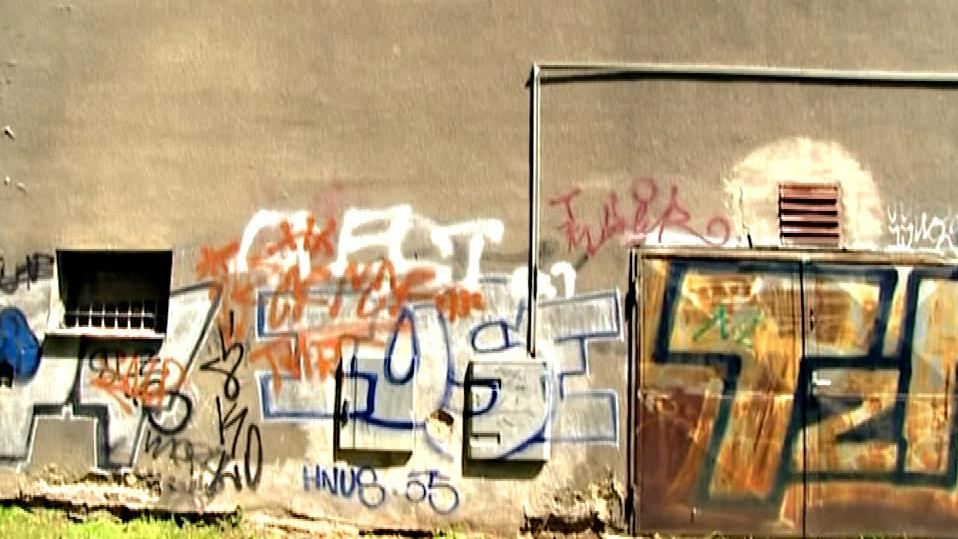 Zdi nevzhledné budovy ozdobili pouliční umělci
