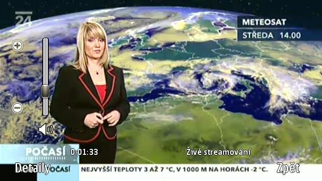 Živé vysílání v mobilu Nokia