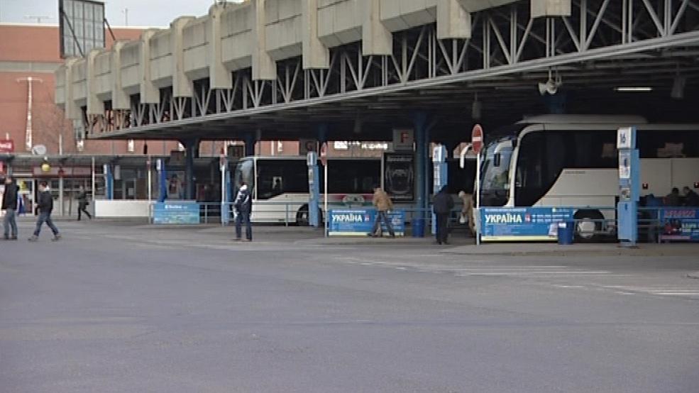 Autobusové nádraží v Brně