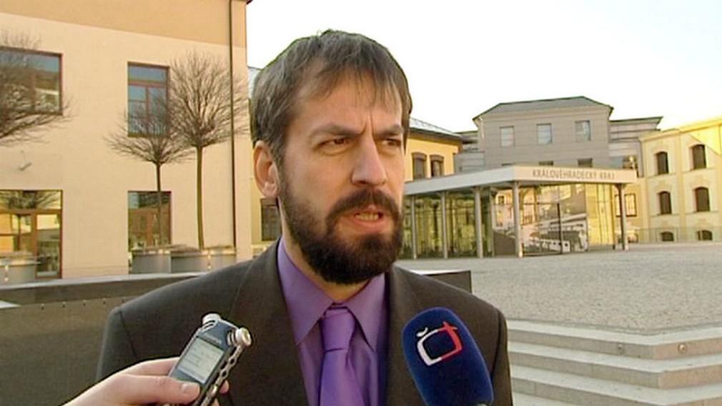 Ředitel Obchodní akademie Jaroslav Bajer