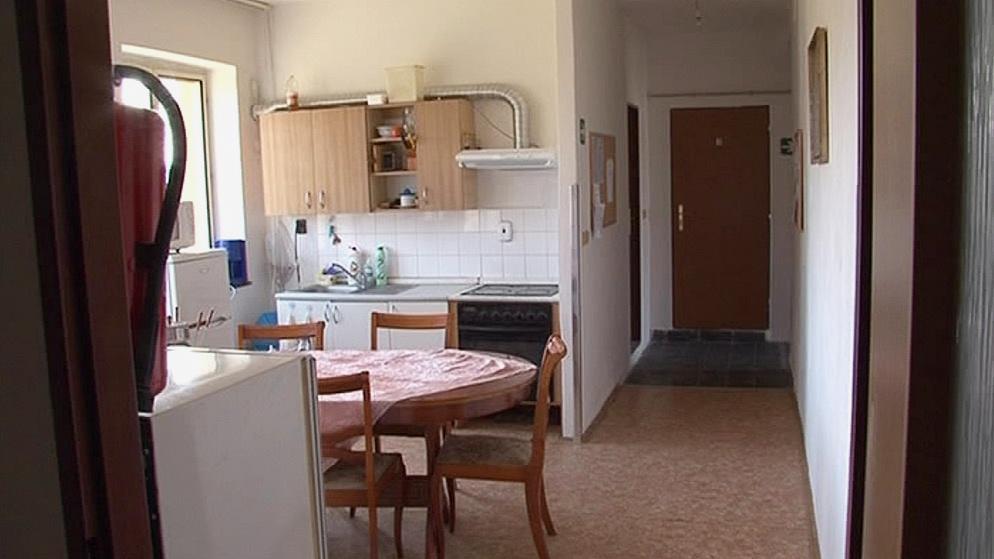Ubytovna pro lidé bez domova v Újezdě u Brna