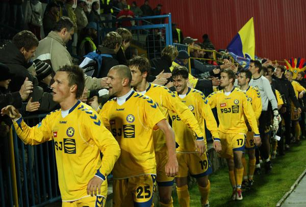 Fotbalisté FC Vysočina Jihlava