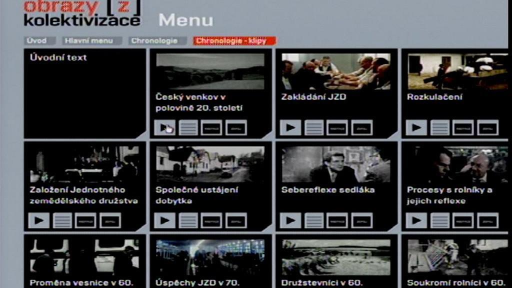 Ukázka nového DVD pro výuku dějepisu