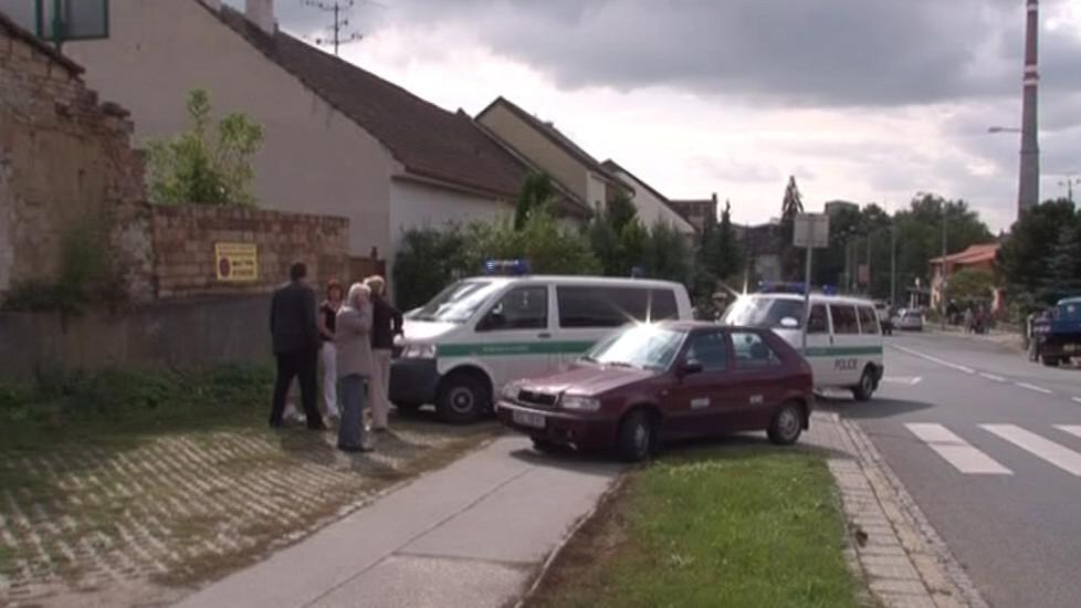 Policie vyšetřuje dopravní nehodu