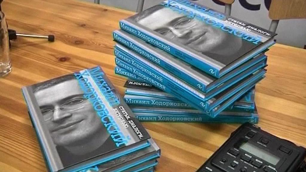 Kniha Michaila Chodorkovského