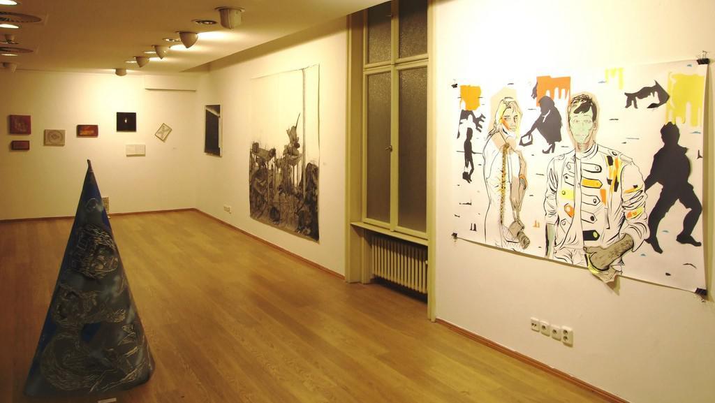 Cena kritiky / instalace v Galerii kritiků v Adrii
