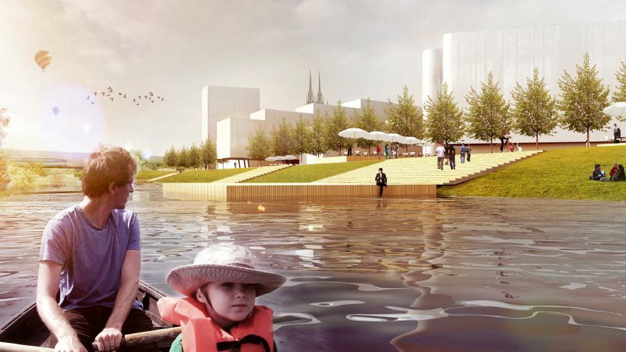 Takto by v budoucnu mohlo vypadat Jižní centrum v Brně