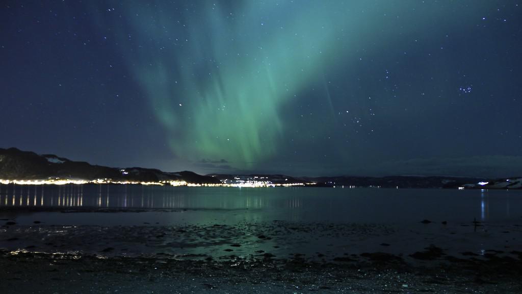 Polární záře v Norsku