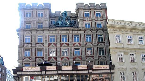 Pavel Janák / Palác Adria