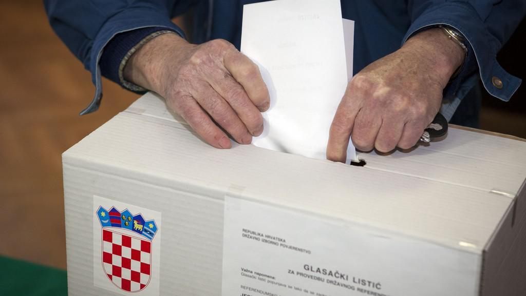 Chorvatské referendum o vstupu do EU