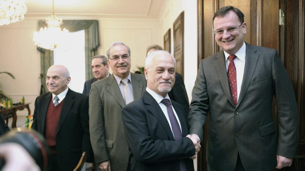 Premiér Nečas jednal s iráckou delegací
