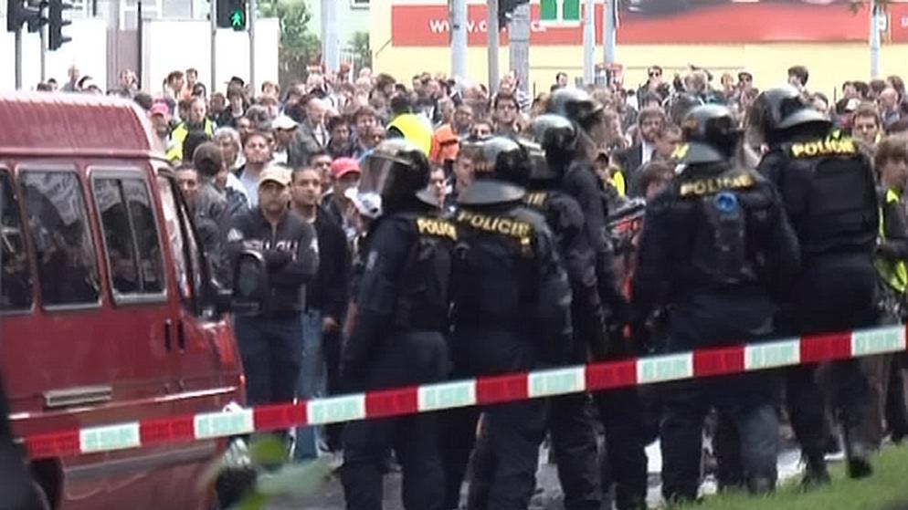 Prvomájová demonstrace v Brně