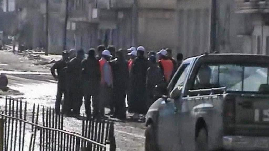 Pozorovatelé LAS v Sýrii
