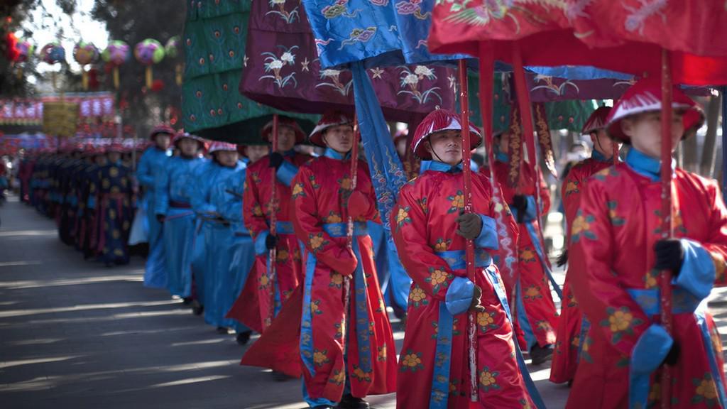 Oslavy přichodu roku Draka