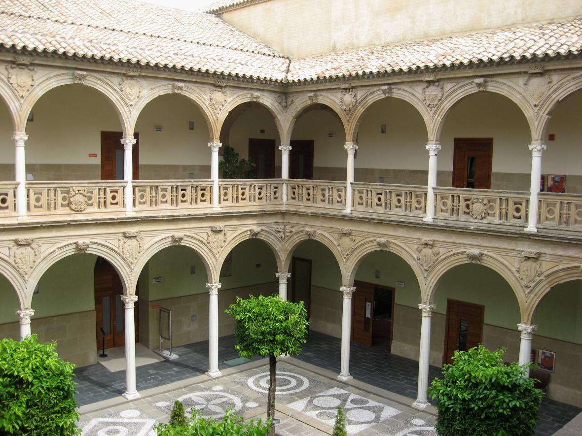 Krásy paláce Jabalquinto