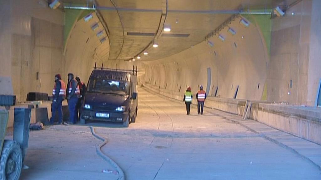Stavba Královopolského tunelu