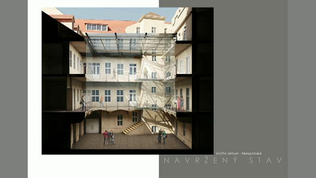 Návrh Knihovny Václava Havla