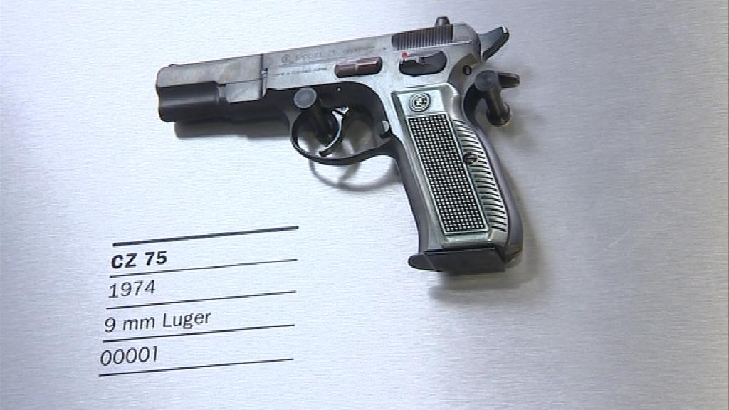 Původní vzor pistole z roku 1974