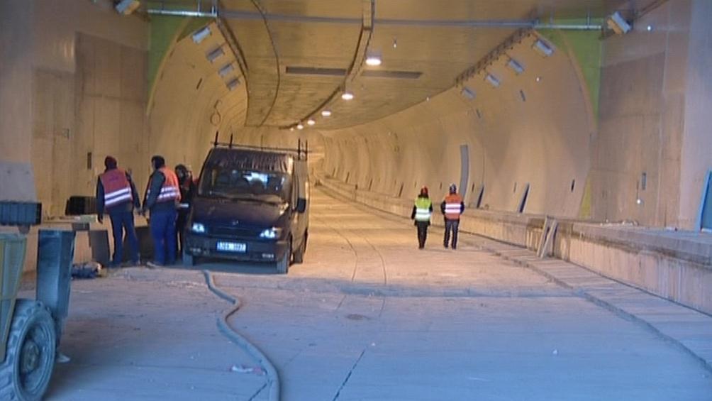Práce na Královopolském tunelu spějí ke svému dokončení