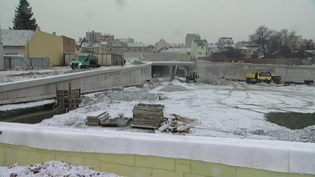 Vyústění tunelů Dobrovského