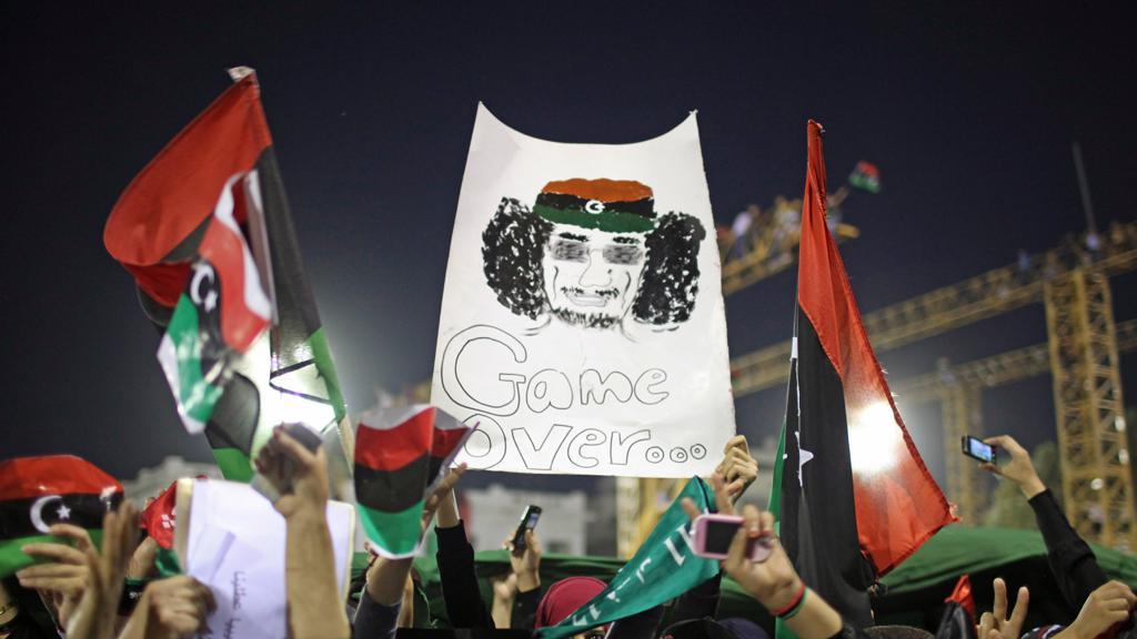 Hra skončila, vzkazují libyjští demonstranti Kaddáfímu