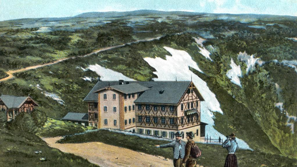 Původní Labská bouda