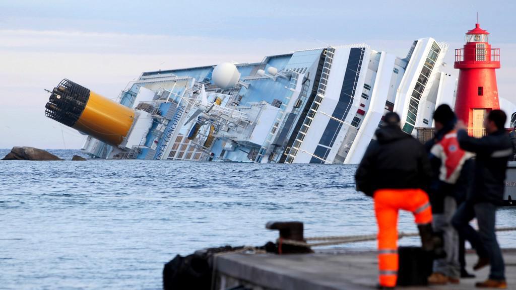 Ztroskotaná italská loď