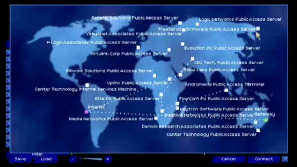 Propojení světových sítí